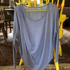 Free People dolman drape front sweater